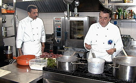Chef Ugolini Teaching