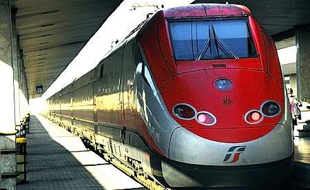 Italy Freccia Rossa speed train