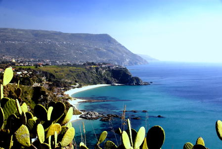 Calabrian Coast near Capo Vaticano