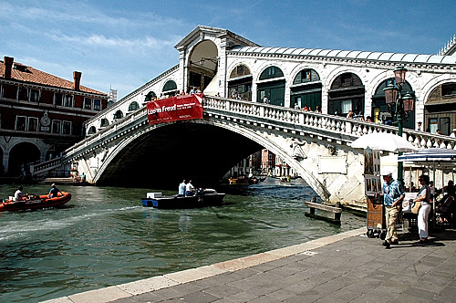 Venice, Rialto Bridge