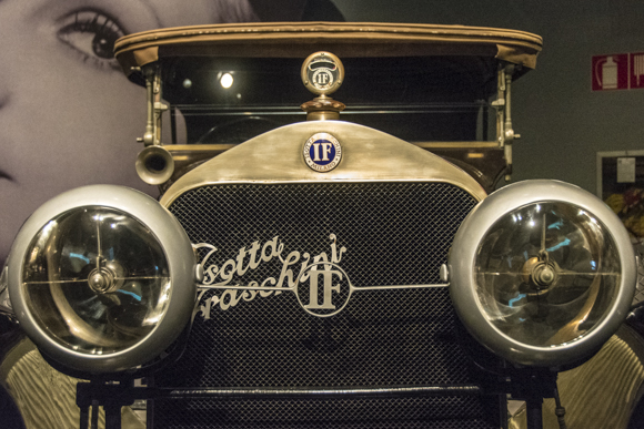"The legendary Italian car ""Isotta Fraschini"""