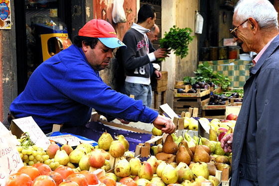 Palrermo, Ballarò street market